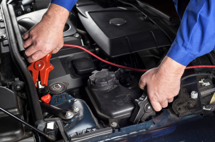 Road side assistance - flat battery - we can jump-start with a car with a booster cable